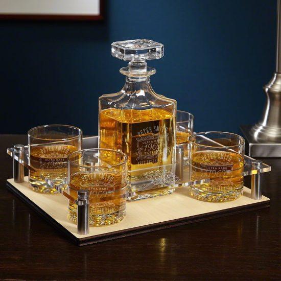 Personalized Whiskey Presentation Set