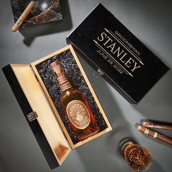 Personalized Liquor Gift Box