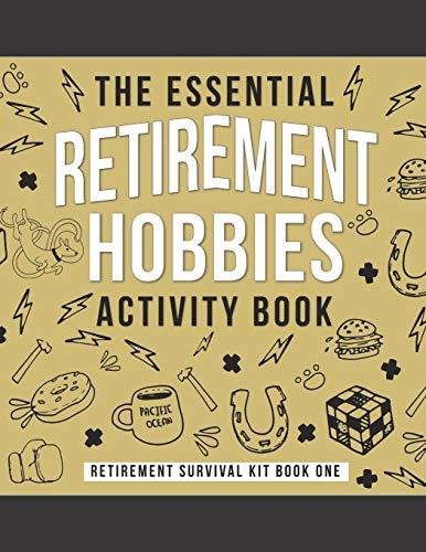 Funny Retirement Hobby Book