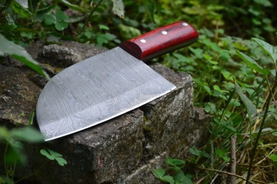 Damascus Steel Survival Cooking Knife