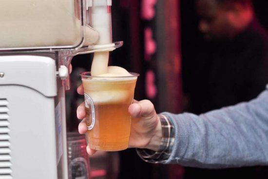 Beer Slushie by Kirin Ichiban