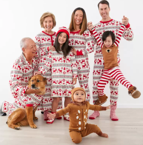 Matching Holiday Family Pajamas