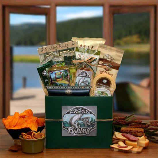 Fishing Themed Retirement Snack Box