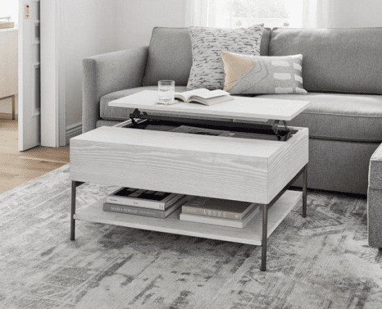 West Elm Lift Top Coffee Table