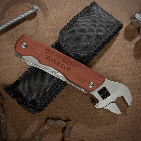 Engraved Wrench Multi Tool