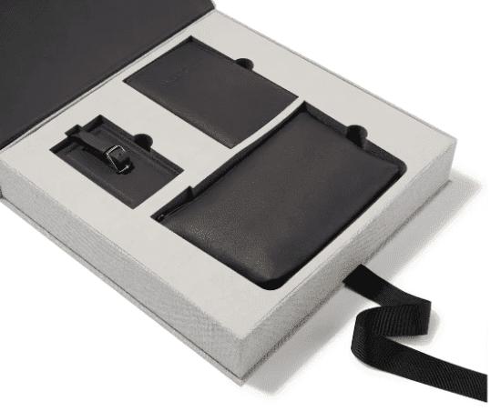 Leather Travel Gift Set