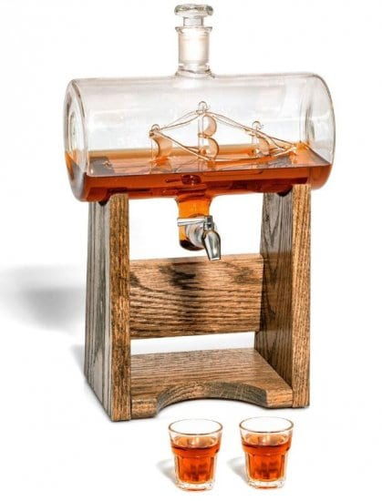 Spigot Decanter is What to Get a Guy for Christmas