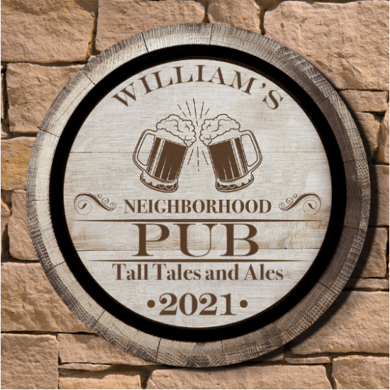 Neighborhood Tavern Custom Sign