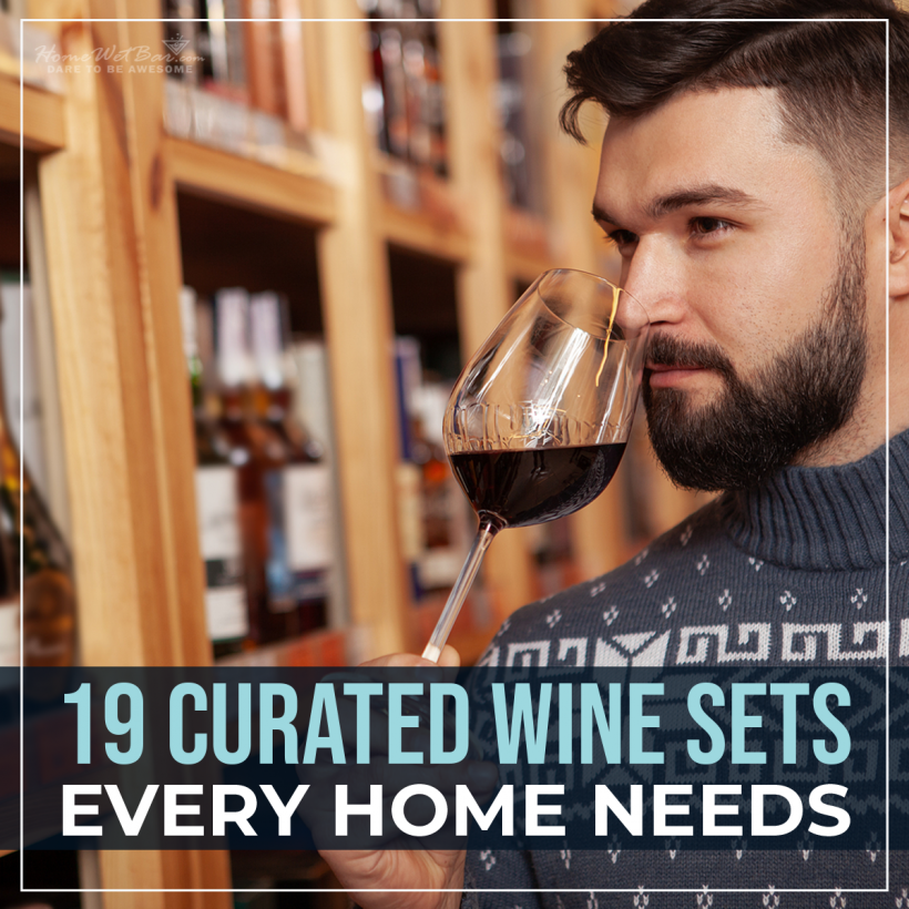 19 Curated Wine Sets Every Home Needs