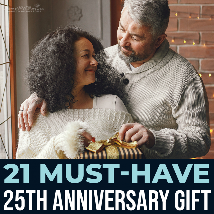 21 Must-Have 25th Anniversary Gift