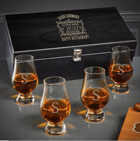 Personalized Glencairn Glasses Box Set