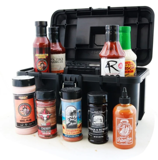BBQ Sauce Set with Toolbox