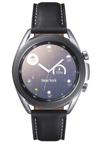 Samsung Galaxy Watch 3 Clock Anniversary Gift for Husband