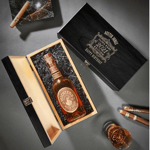 Custom Wooden Gift Box Good Birthday Gifts for Guy