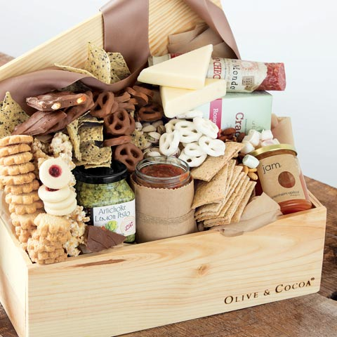 Olive and Cocoa Food Gift Basket