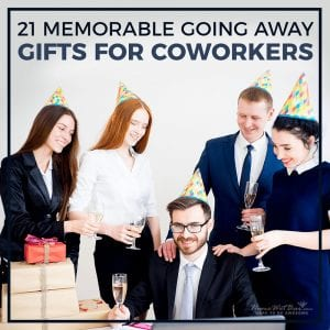 21 Memorable Going Away Gifts for Coworkers