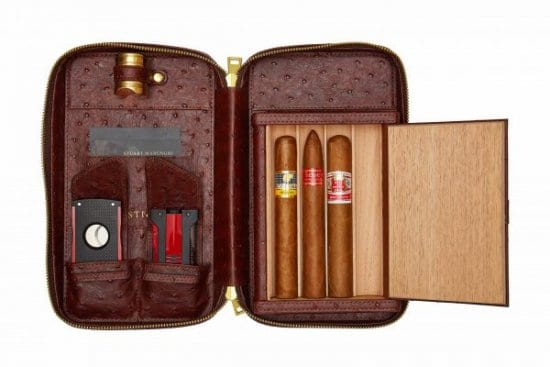 Luxury Travel Cigar Humidor