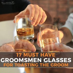 17 Must-Have Groomsmen Glasses for Toasting the Groom