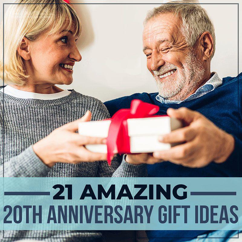 21 Amazing 20th Anniversary Gift Ideas