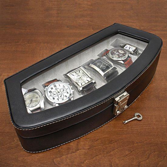 Italian Leather Watch Case