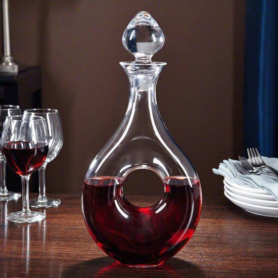 Wine Decanter is a Wedding Reception Idea