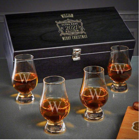 Whiskey Tasting Set of Good Christmas Gifts
