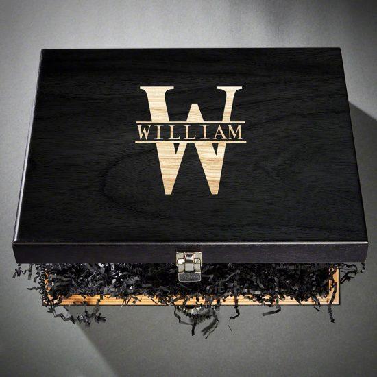 Wooden Gift Box Wedding Reception Idea