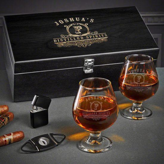 Cognac Gift Basket