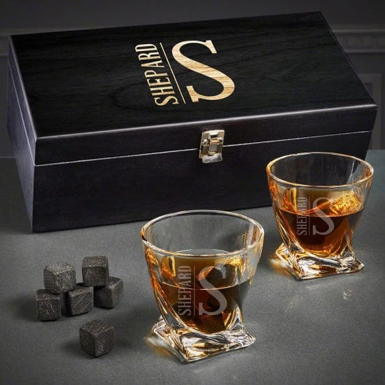 Twist Whiskey Glass Fathers Day Gift Baskets