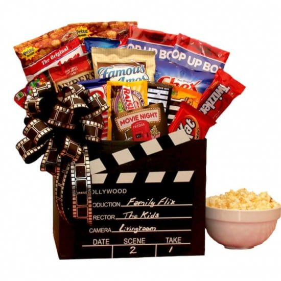 Movie Theater Snack Gift Basket