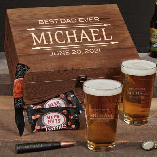Beer Gift Basket for Fathers Day