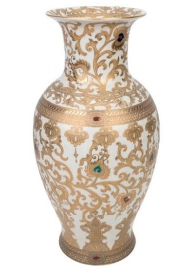 Porcelain China Vase is a 20th Anniversary Present