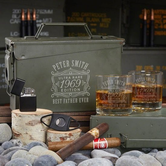 Whiskey Ammo Can Gifts for Dad Who Has Everything and Wants Nothing