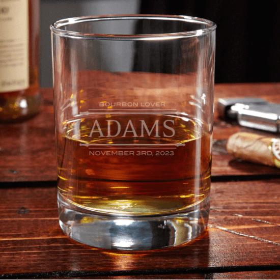 Vintage Bourbon Glass