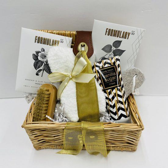 Spa Day Thank you Gift Baskets