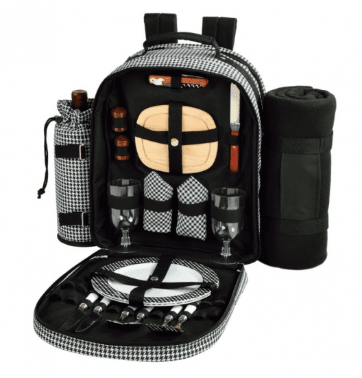 Picnic Backpack Set of Christmas Gifts for Couples Who Have Everything