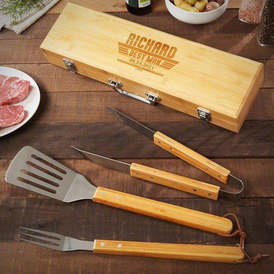 Custom Bamboo Grill Tools