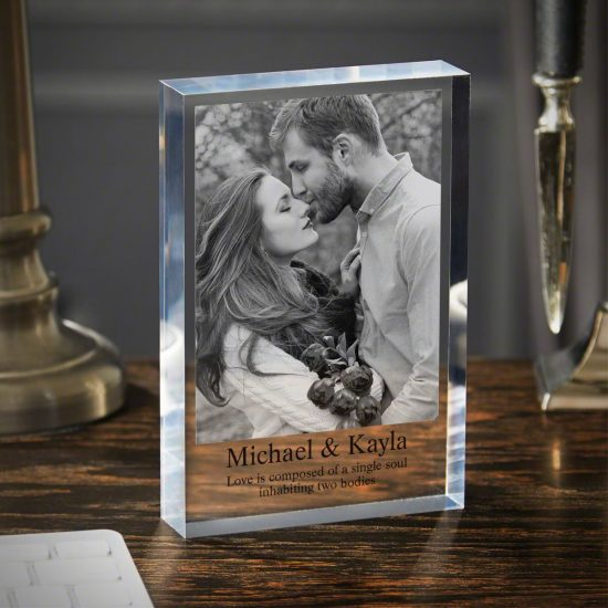 Acrylic Block Christmas Gift for Couple Who Have Everything