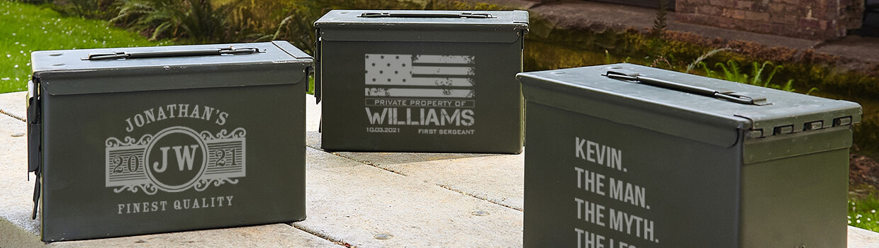 Custom Ammo Boxes & Cans