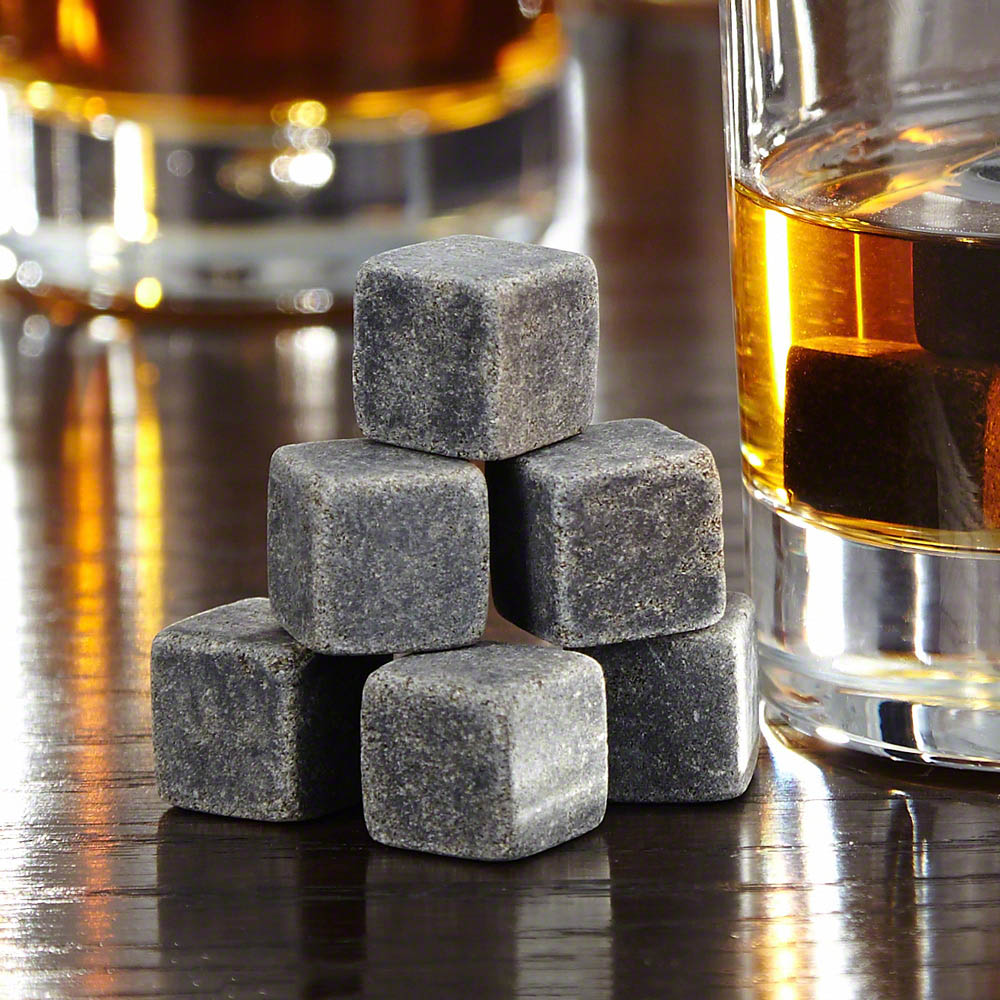 FREE GIFT - NO CHARGE - 9 Pc Whiskey Stones Set (limit one)