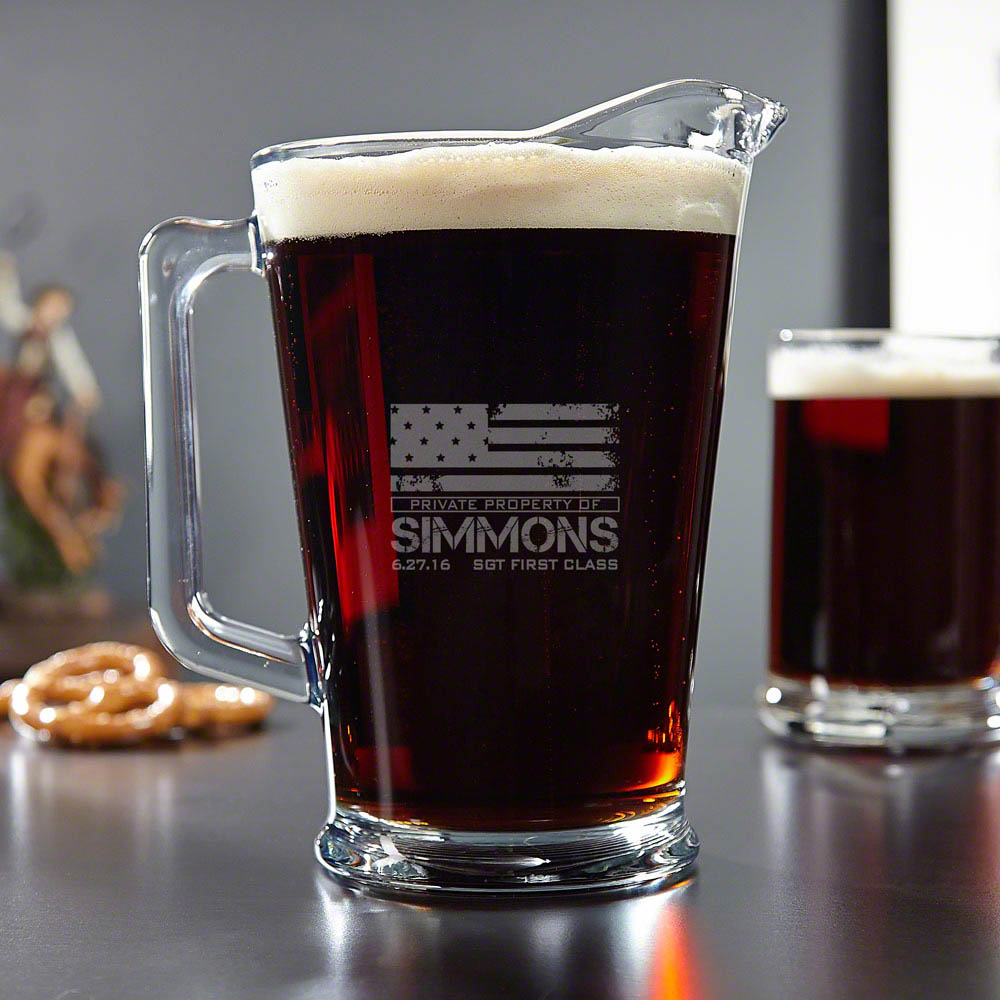 American-Heroes-Personalized-Glass-Beer-Pitcher