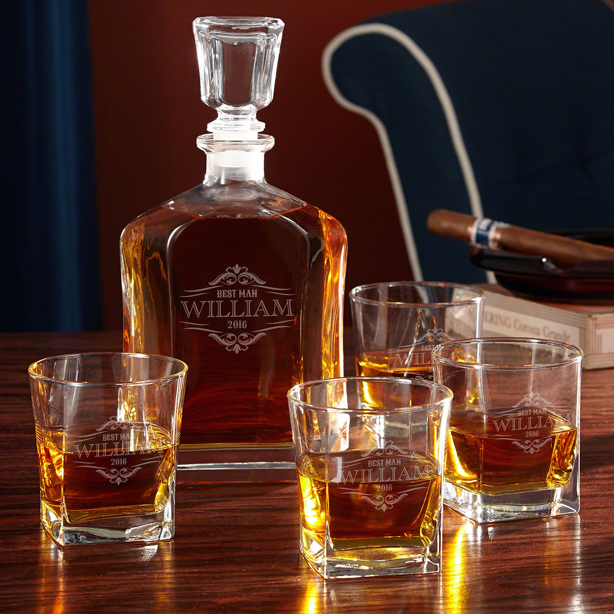 Wilshire Personalized Argos Decanter Set