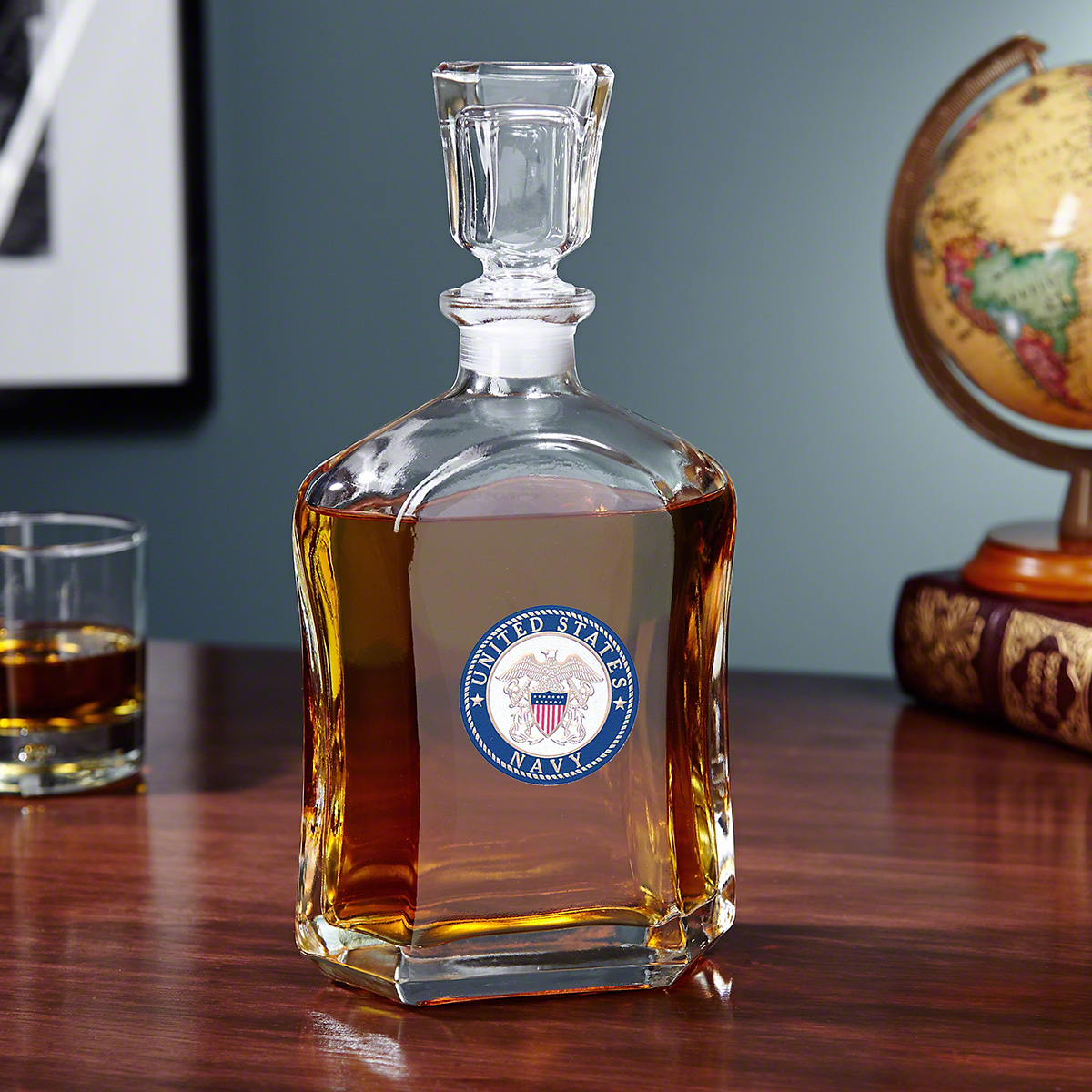 US-Navy-Crested-Whiskey-Decanter