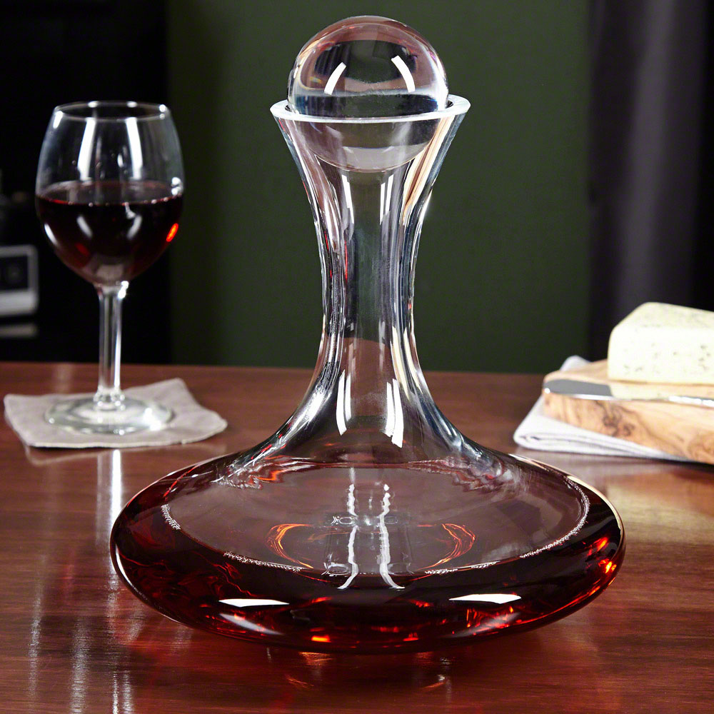 French Riviera 5-Piece Wine Experience Decanter Set