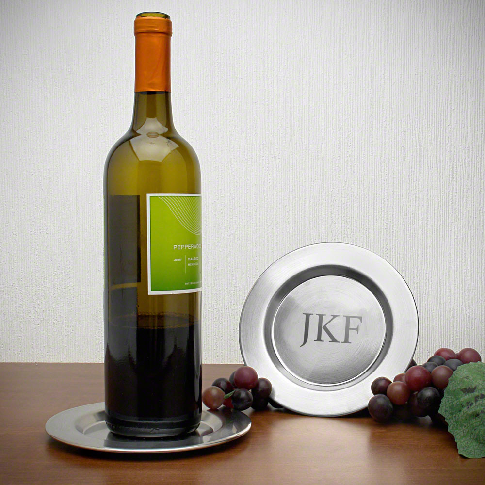 Perugia Personalized Wine Bottle Coaster