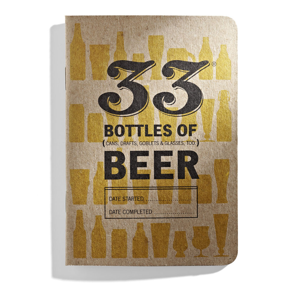 33 Bottles of Beer Tasting Notebook