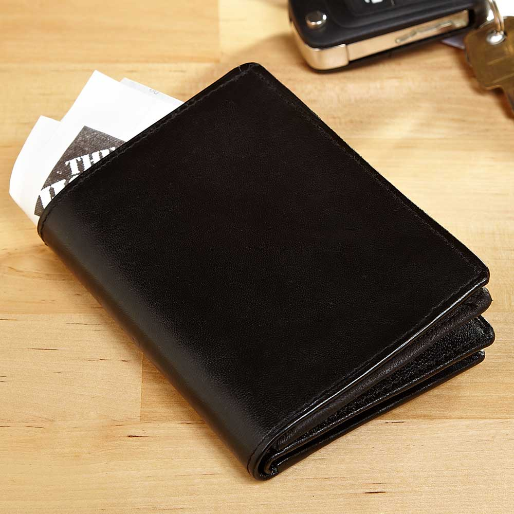 Down to Business  Bifold Wallet, Black
