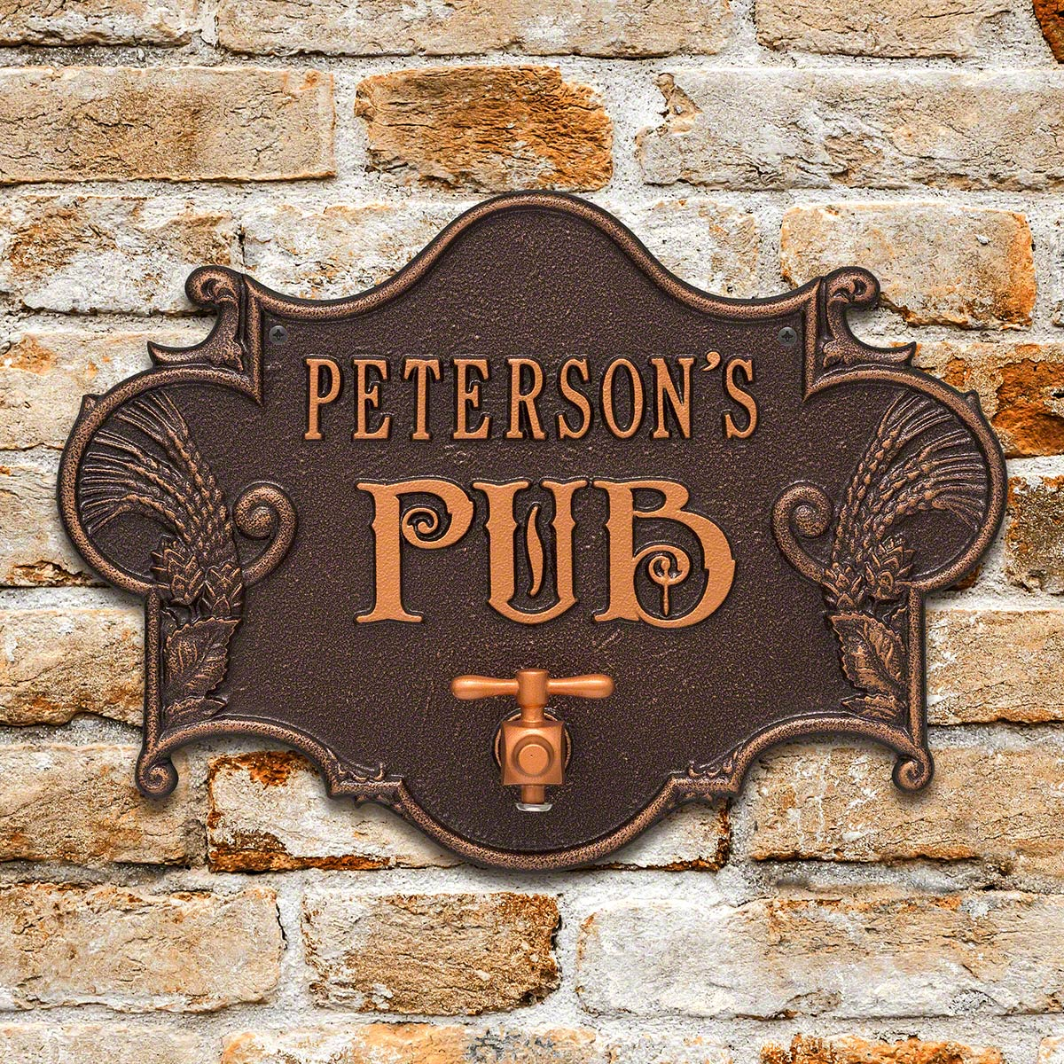 Hops-Barley-Personalized-Beer-Pub-Plaque-7-Color-Options