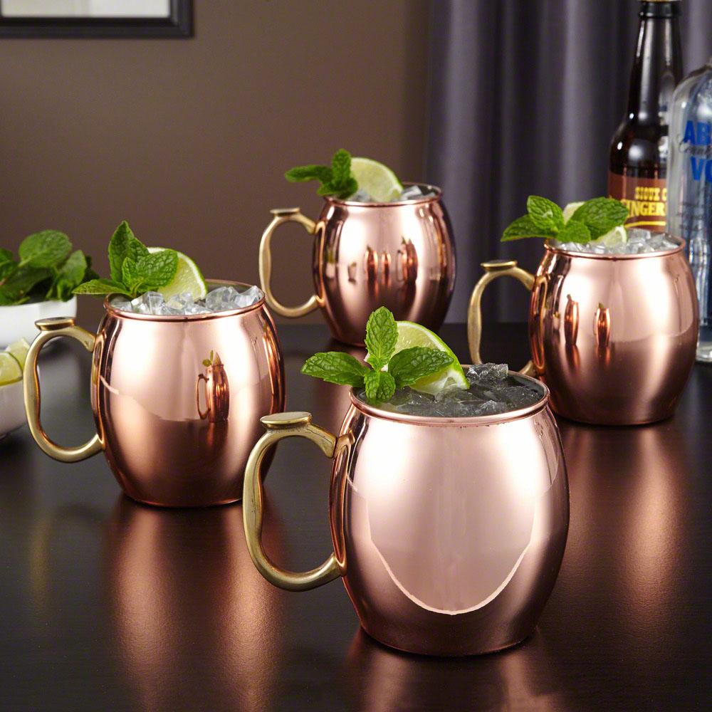 Moscow Mule Mugs, Set of 4 - 20 oz