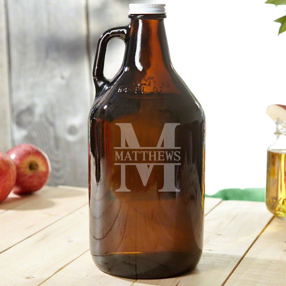 Oakmont Personalized Beer Growler